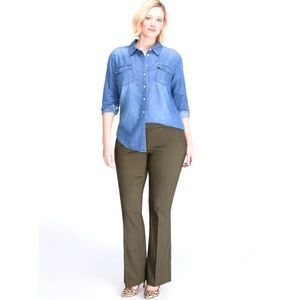 Lane Bryant The Allie Sexy Stretch Pants size 24R